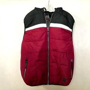 Montfort Men's Puffer Vest w/Hoodie